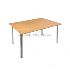 "Металлический офисный стол ""Обвязка 120х80"""