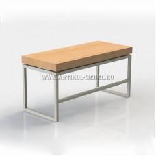 Офисный стол с толстой столешницей