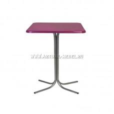 """Барный квадратный стол """"Паук Дуолит 65"""""""